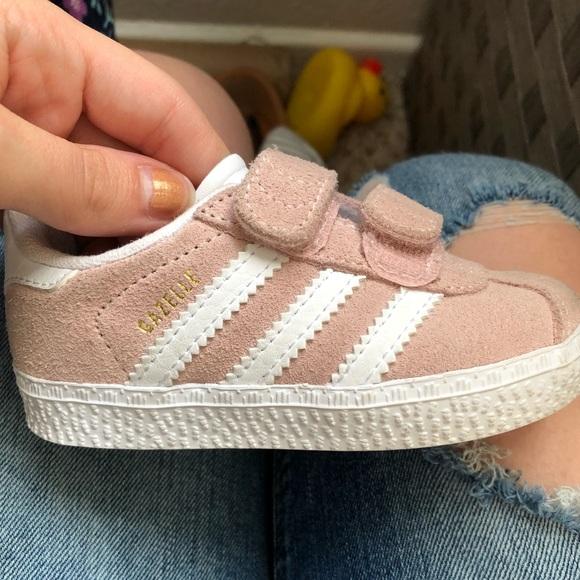 Baby Girl Pink Gazelle Adidas   Poshmark